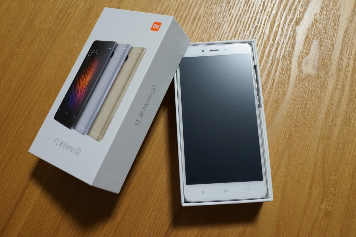 Xiaomi Redmi Note 4 外観写真