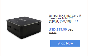 Jumper MX3 Intel Core i7 Barebone MINI PC