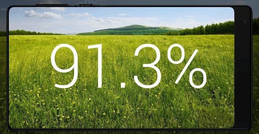 Xiaomi Mi MIXはベゼルがカスタマイズできる