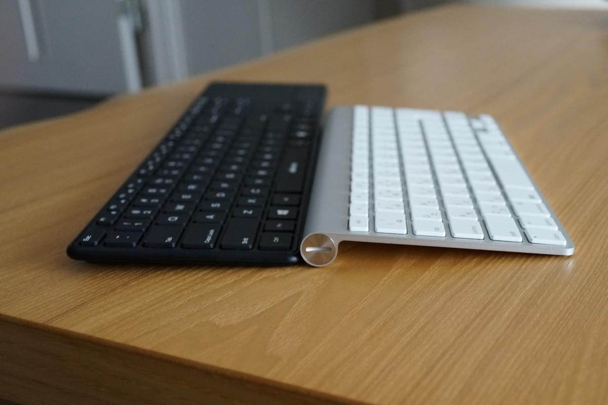 d15インチ タッチパット付き 英語配列Bluetoothキーボード アイソレーション+パンダグラフ