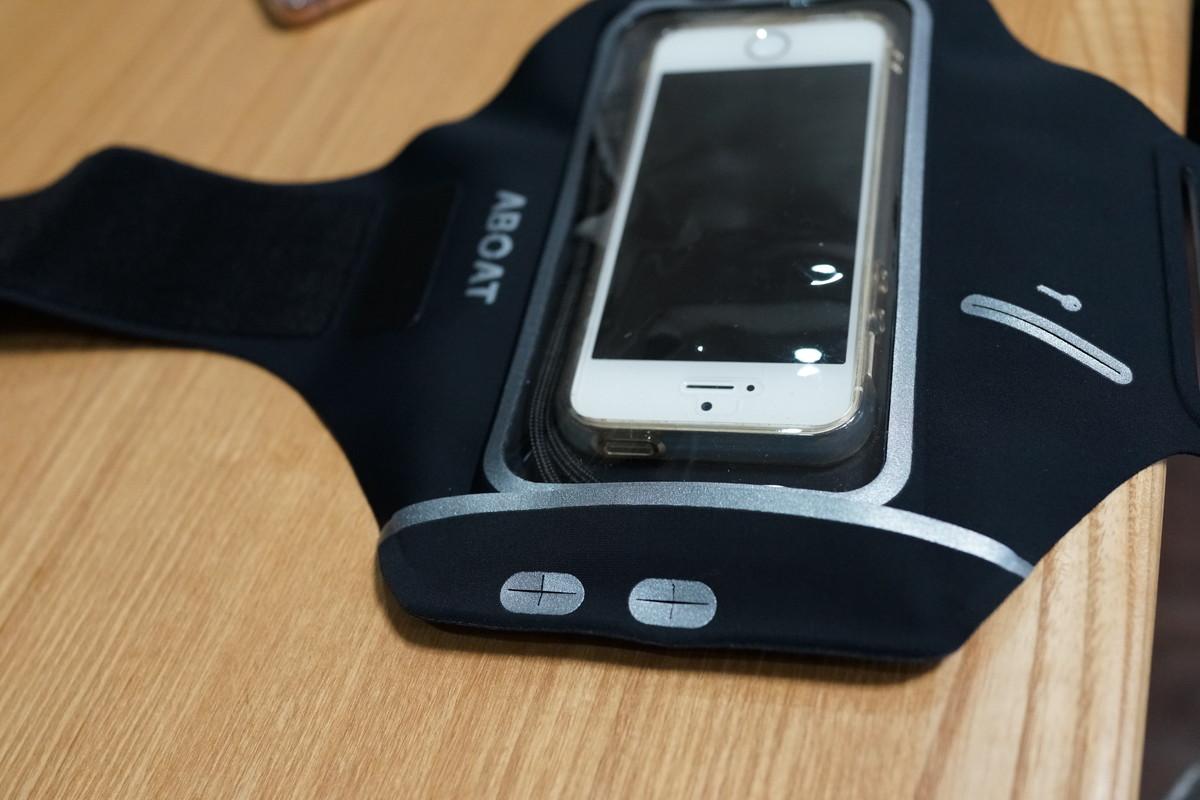 ABOAT スマホ用アームバンド 4.7-5.5インチ iPhone7に最適!