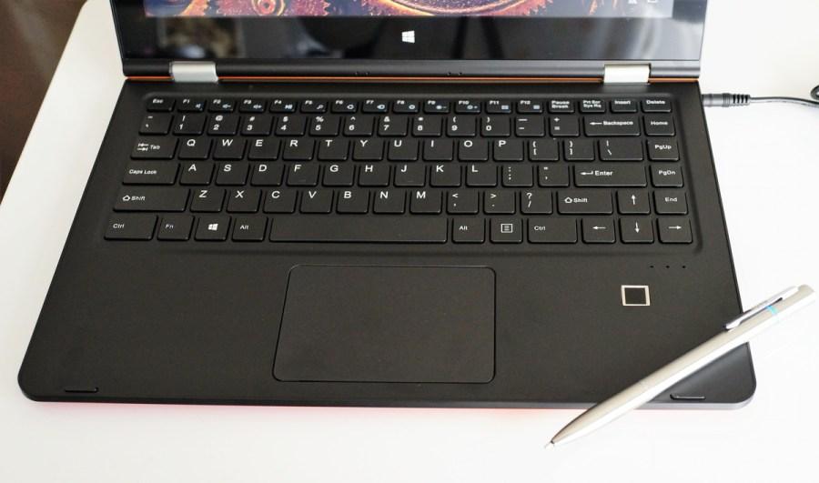 VOYO VBook V3 Ultrabook Fingerprint Identificationレビュー 指紋認証センサーの紹介参考画像