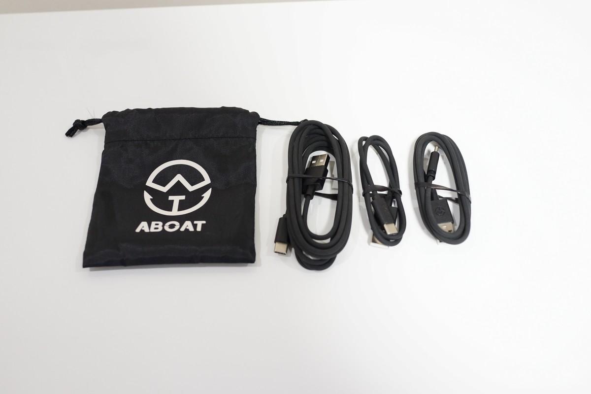 ABOAT USB Type-Cケーブル3本セット  56Kレジスタ実用タイプ