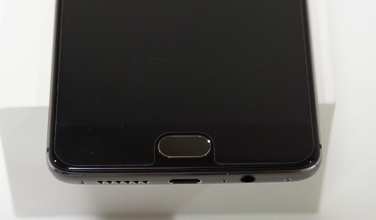 OnePlus 3T レビュー タッチセンサー、指紋認証の精度と場所の説明参考画像