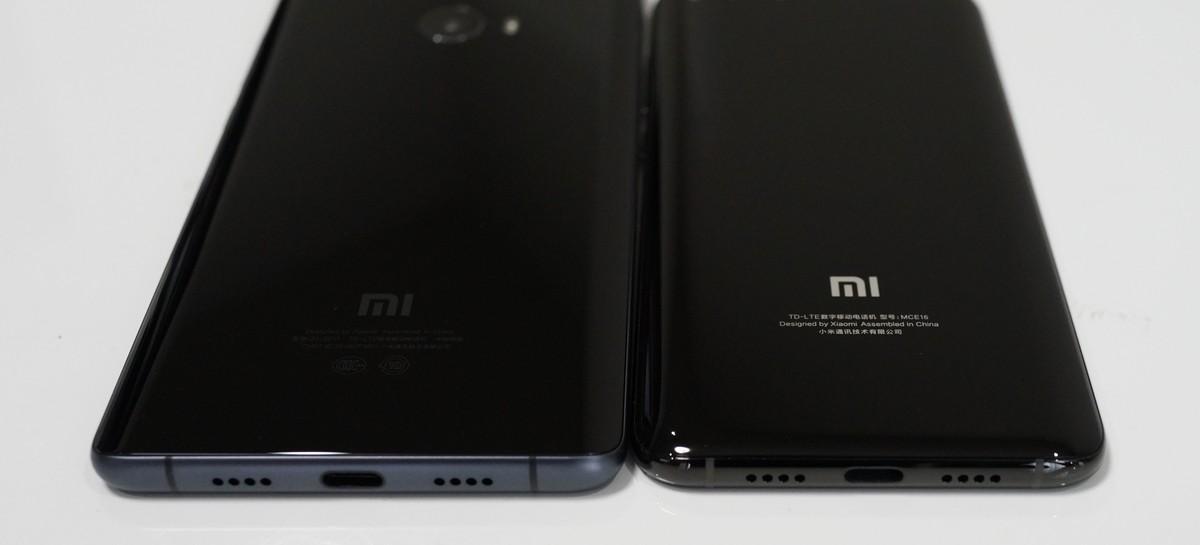 Xiaomi Mi 6 レビュー  Xiaomi mi note 2との外観比較画