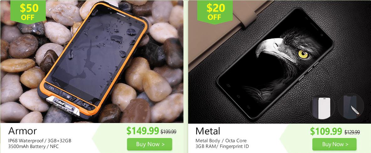 Ulefone セール