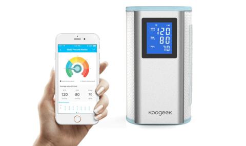 iPhoneとAndroidのアプリでデータが管理できる血圧計「Koogeek BP2」FDA認可付き!