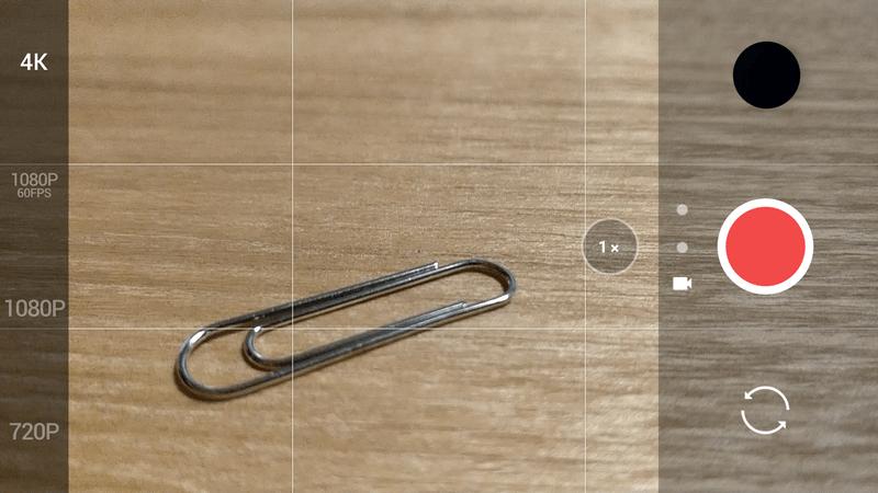 OnePlus 5 実機レビュー 動画のクオリティーについての参考画像
