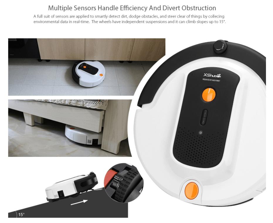 Haier XShuai ShuaiXiaoBao Robot Vacuum Cleaner が$159.99でセール中