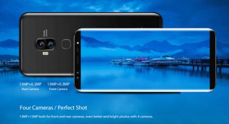【クーポンで$79.99】Blackview S8 画面占有率90% Galaxyライクなベゼルレス5.7インチスマホ