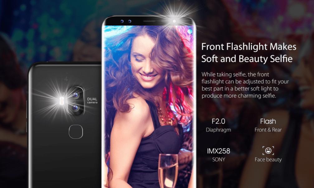 Blackview S8 カメラの詳細参考画像