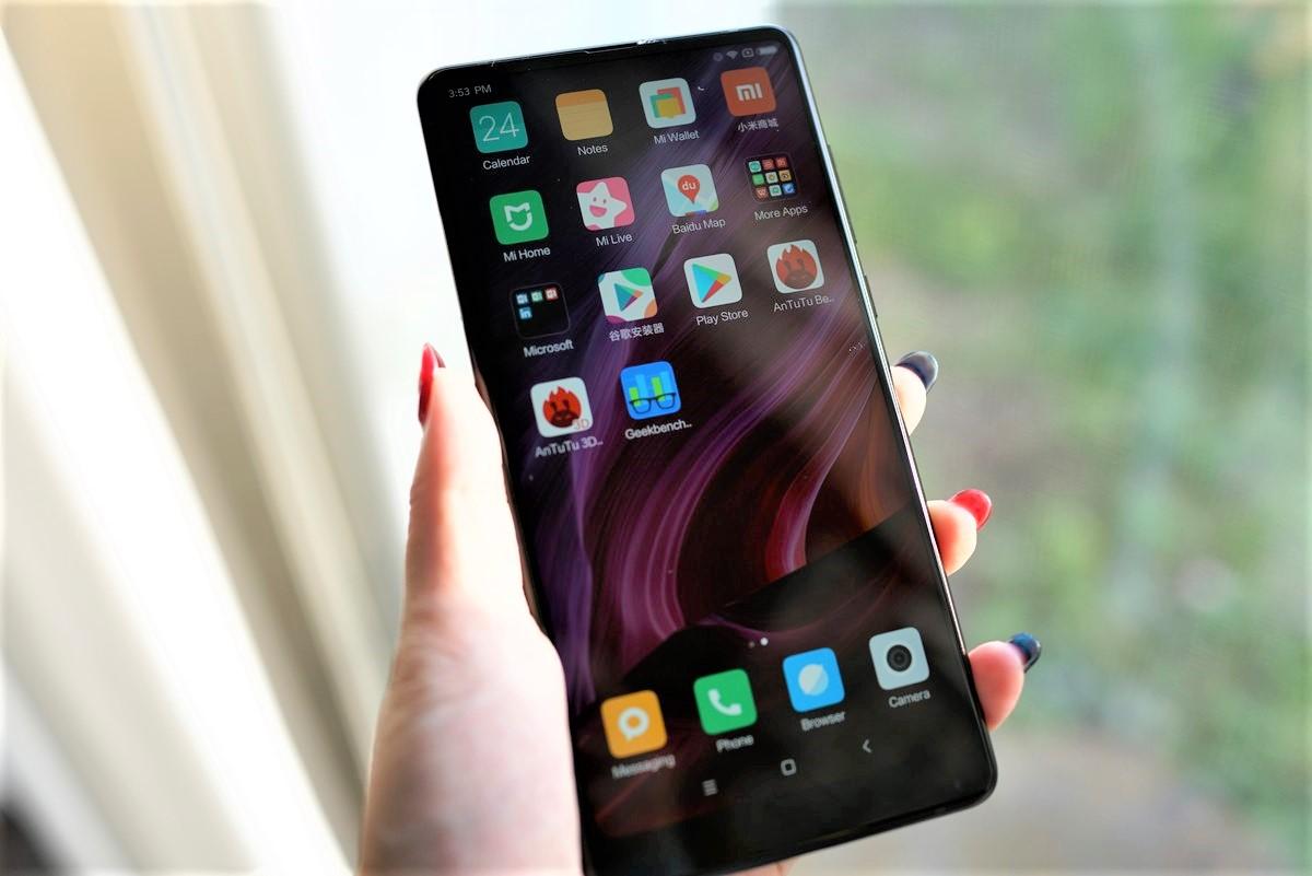 Xiaomi mi mix 2 レビュー 液晶の説明参考画像