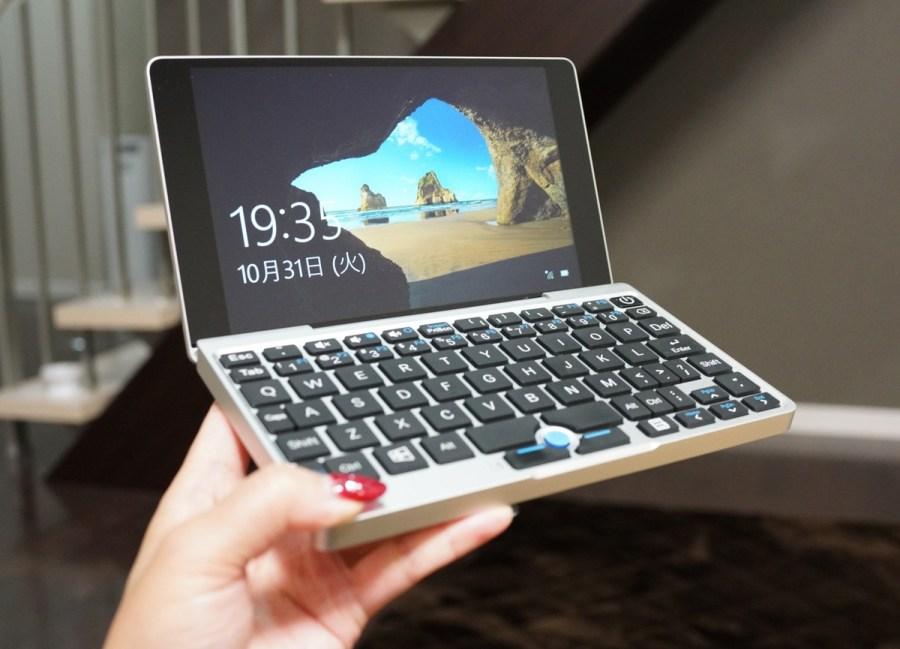 GPD Pocket Mini Laptop UMPC 7インチのミニPC実機レビュー
