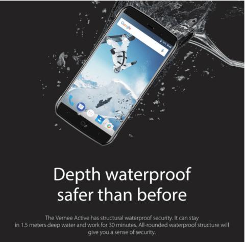 DOCOMOのプラチナバンドとCDMA2Kに対応の防水タフネススマホのvernee Activeがプレオーダー中!