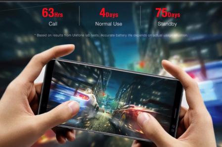 Ulefone Power 3 スペックレビュー 前後にデュアルカメラで6080mAhバッテリー搭載6.0インチスマホが$219.99