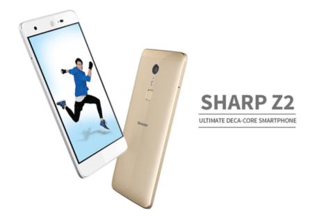 【クーポンで$107.99】SHARP Z2 スペックレビュー 前面に広角82度のカメラ搭載でセルフィー向き