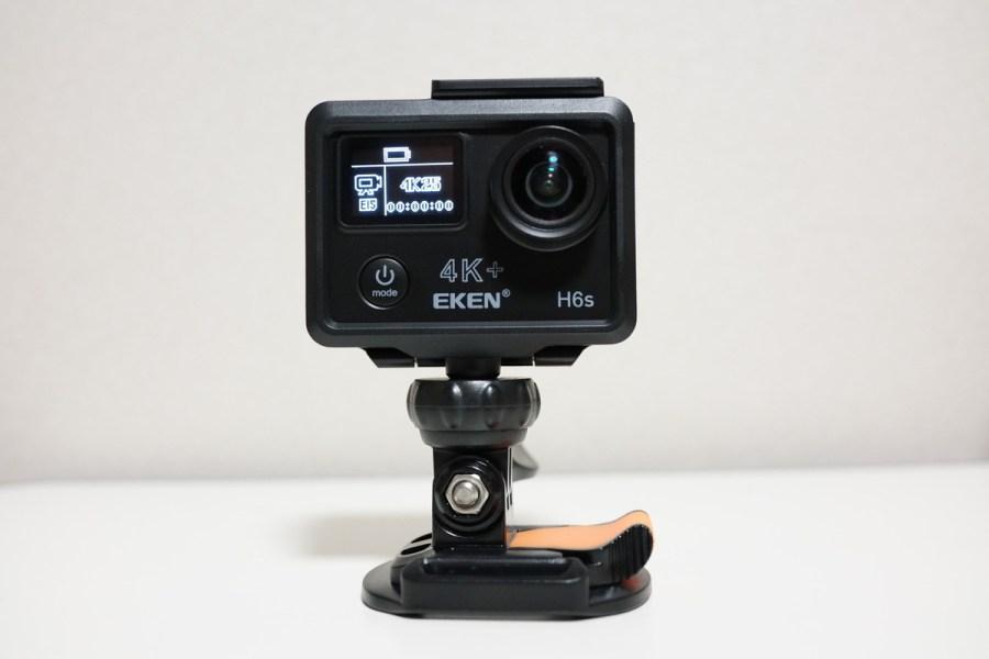 EKEN H6s 4K+ アクションカメラレビュー