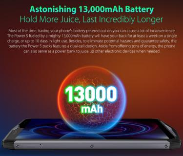【セールで$249.99】Ulefone Power 5 スペックレビュー・CPU性能・割引クーポンまとめ