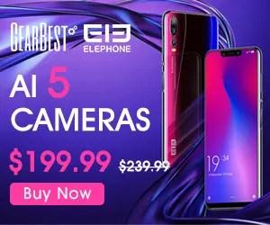 トリプルレンズのリアカメラ搭載のElephone A5が$199.99でプレセール開始