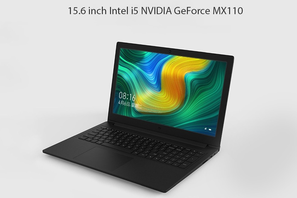 Xiaomi Mi Notebook Intel i5-8250U NVIDIA GeForce MX110 4GB DDR4 128GB SATA SSD 1TB HDD Laptop