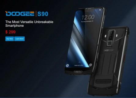 Doogee S90 がKICKSTARTERに登場!外付けのモジュールのナイトカメラレンズがすごい!早割で41%割引購入のチャンスです!
