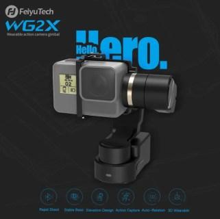 FeiyuTech WG2X アクションカメラ用3軸ジンバルが138.99ドルでセール中!