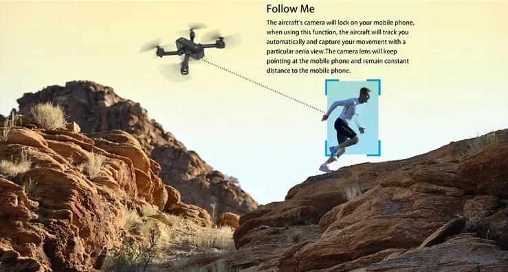 MJX X103W 2K Camera 5G Wifi FPV GPS RC Droneの特徴