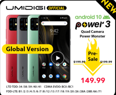 【セール予告】UMIDIGI Power 3 VS Xiaomi Redmi Note 8【2日間限定で$149.99】