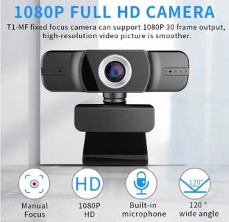 1080P解像度ライブストリーミング用Webカメラが3845円~ドライバー不要でUSBで接続可能!