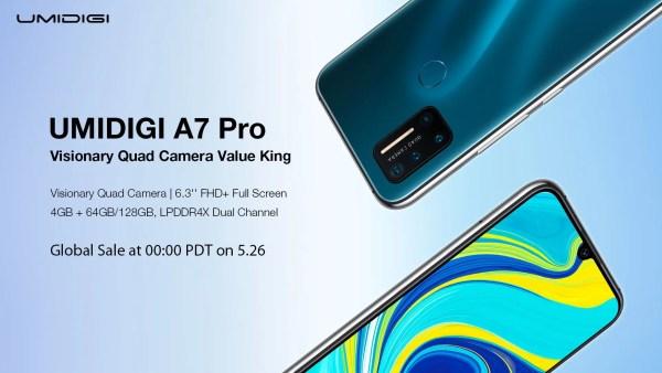 UMIDIGI A7 Proのスペックレビュー