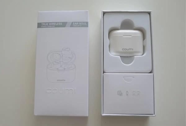 3千円以下で買えるBluetooth5.0・AAC・6時間連続再生可能なCOUMI 左右独立型ワイヤレスイヤホンレビュー