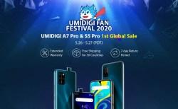 本日16時よりS5 Proが$249.99、A7 Proが$99.99の大特価になるUMIDIGIファンフェスティバル開催!