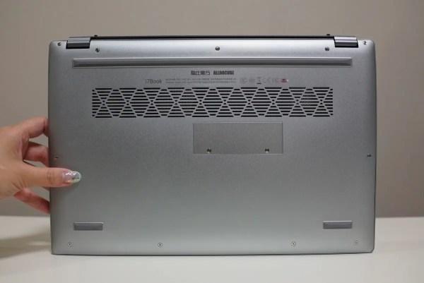 ALLDOCUBE i7Book レビュー 底部