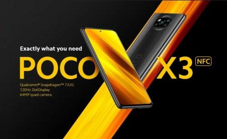 【セール価格$219】POCO X3 NFC スペック詳細と割引クーポンまとめ