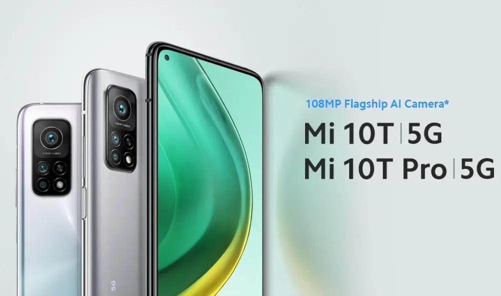 Mi 10T VS Mi 10T Pro スペック比較