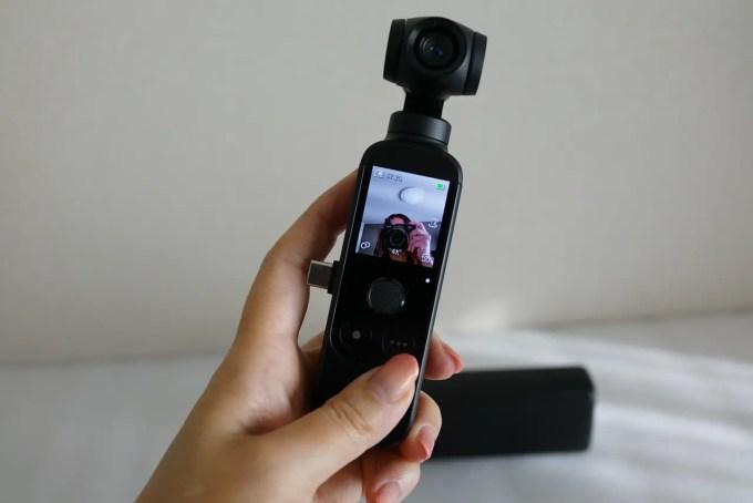 ポケットサイズのジンバルカメラ MORANGE M1 Pro レビュー