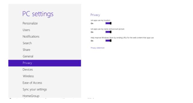 Adjusting Privacy Settings