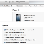 Trick to copy music files to iPhone without iTunes sync