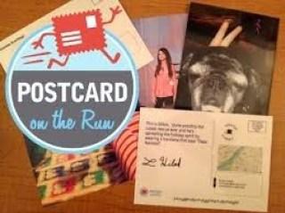 postcard on the run