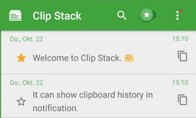 ClipStack- Best Android Apps