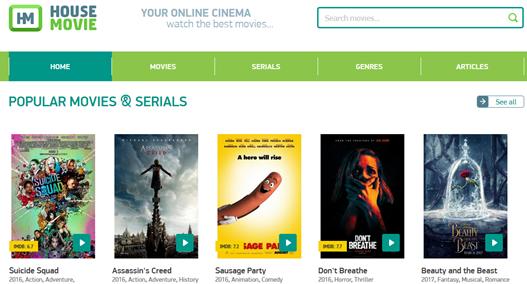 House Movie- watch free movies online