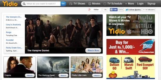 Yidio- watch free movies online