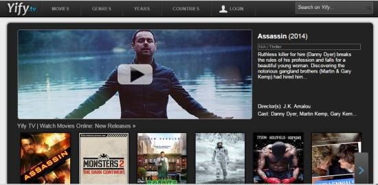 Yify- watch free movies online