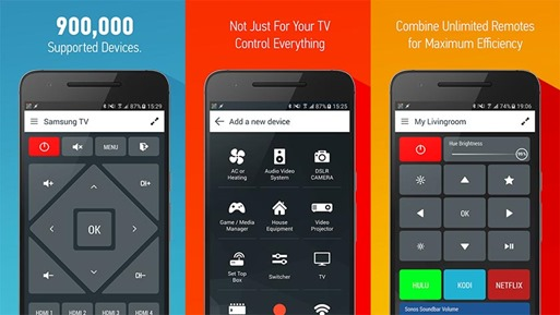 Smart IR Remote – AnyMote- TV Remote Apps for Android Device