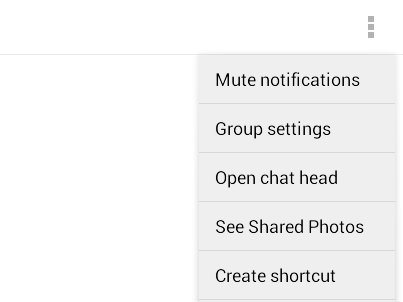 Trick to disable Facebook chat notifications in Android