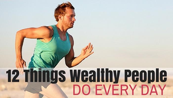 wealthy people habits