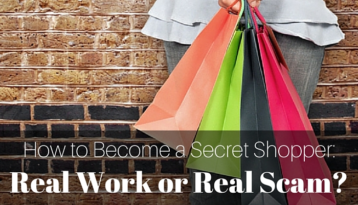 Become A Secret Shopper - Best Work at Home Job for Stay at Home Moms and Dads