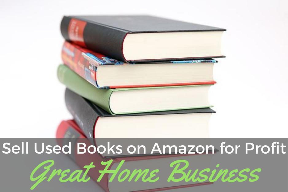 Sell Used Books on Amazon For Money-Great Home Business!