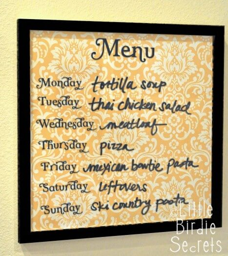 DIY Project Ideas to Make and Sell-Menu Board