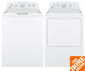 GE Top Load Washer & Dryer
